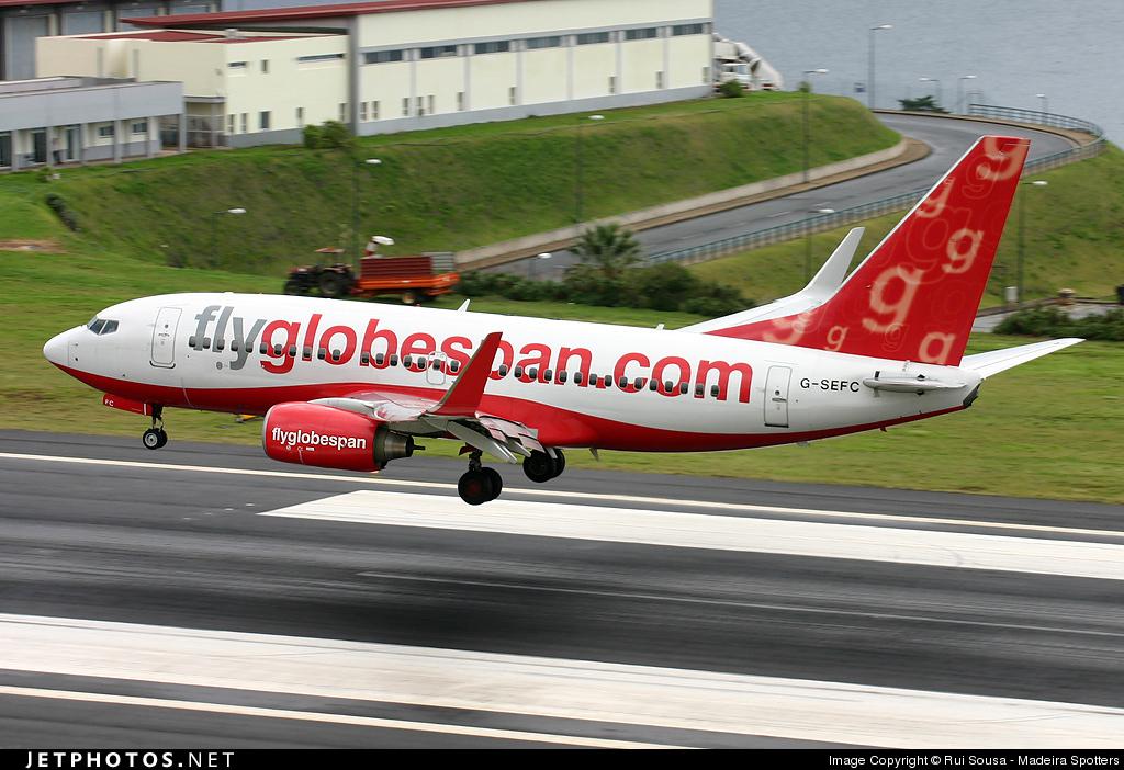 G-SEFC - Boeing 737-7Q8 - Flyglobespan