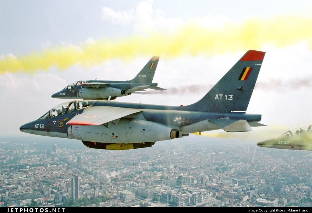 AT13 - Dassault-Breguet-Dornier Alpha Jet E - Belgium - Air Force