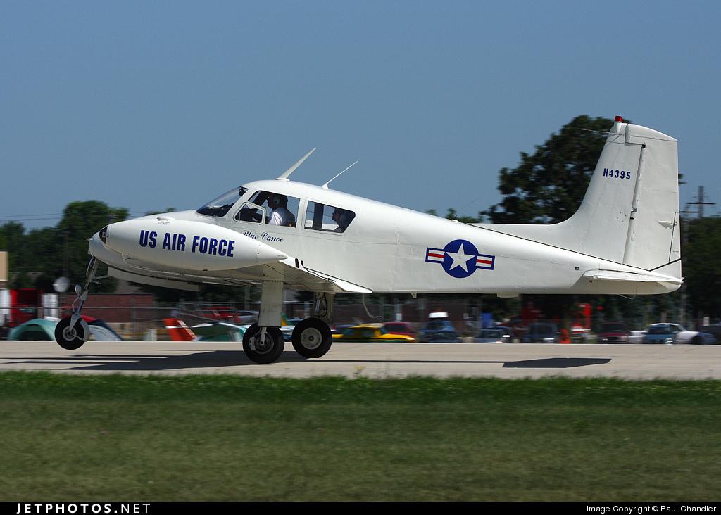 N4395 - Cessna U-3A Blue Canoe - Private