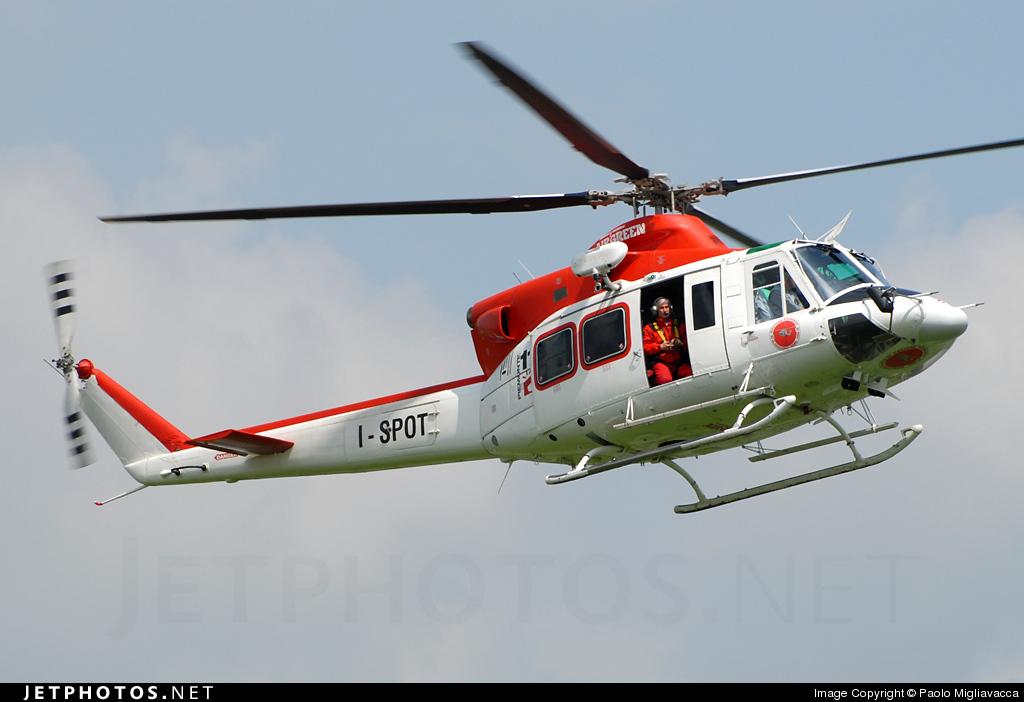 I-SPOT - Agusta-Bell AB-412HP - Air Green