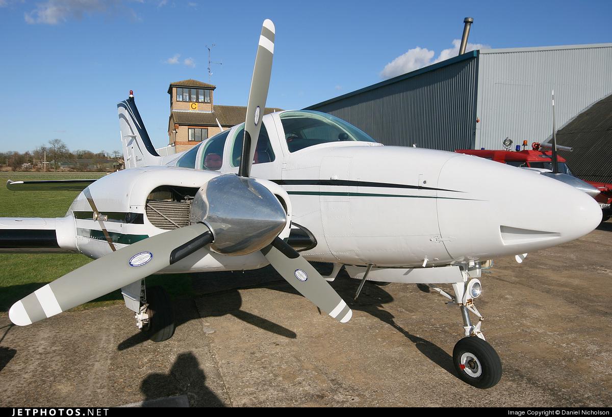 G-UROP - Beechcraft 95-B55 Baron - Private