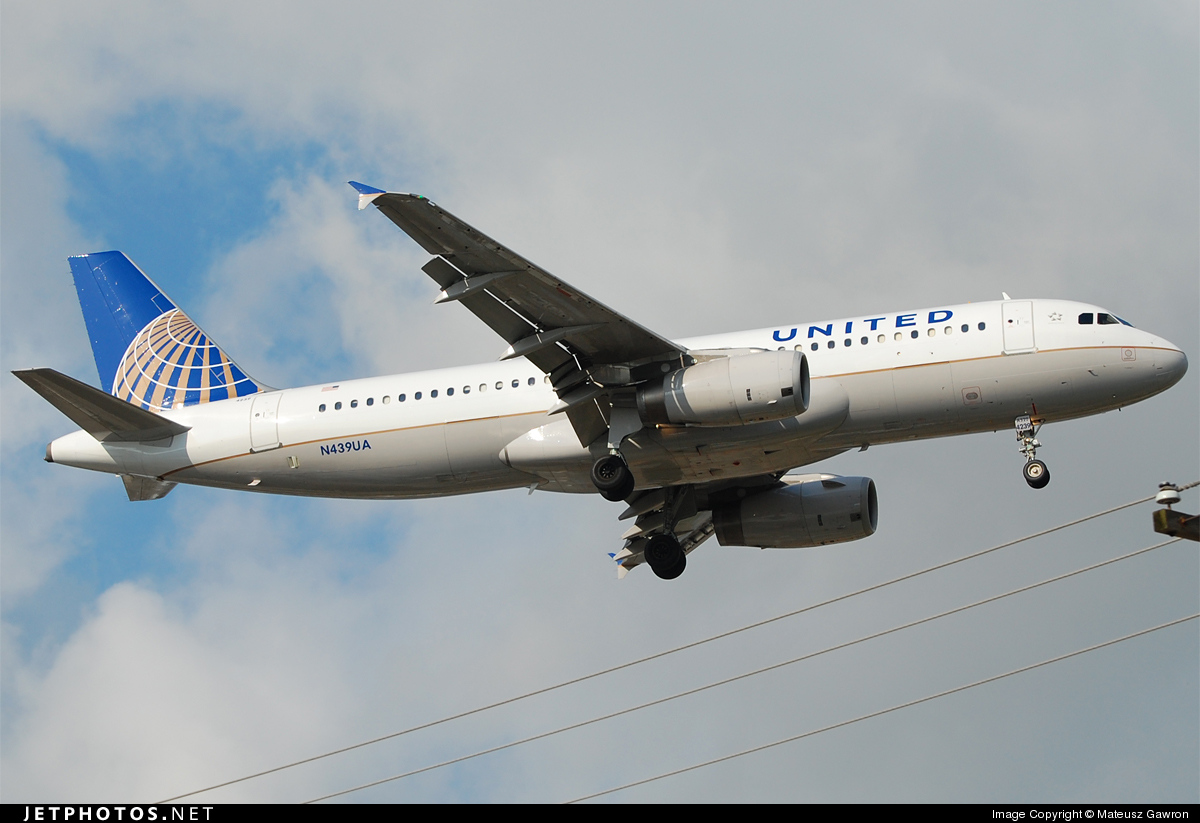N439UA - Airbus A320-232 - United Airlines