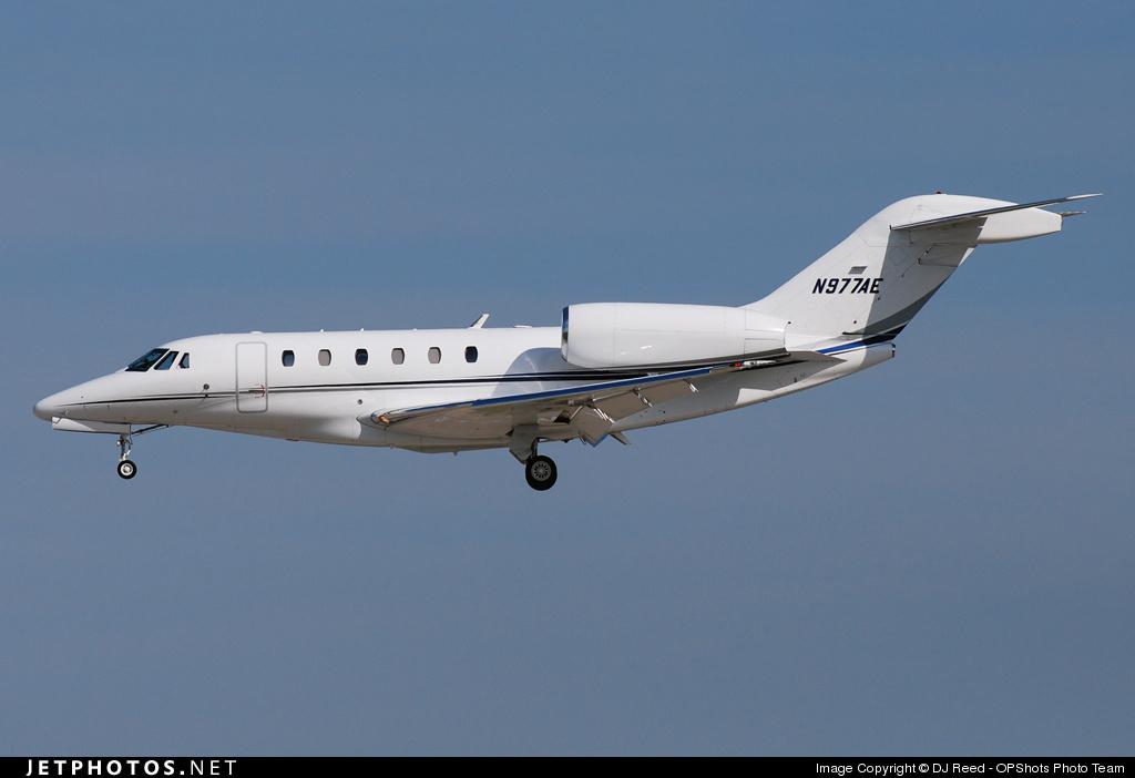 N977AE - Cessna 750 Citation X - Private