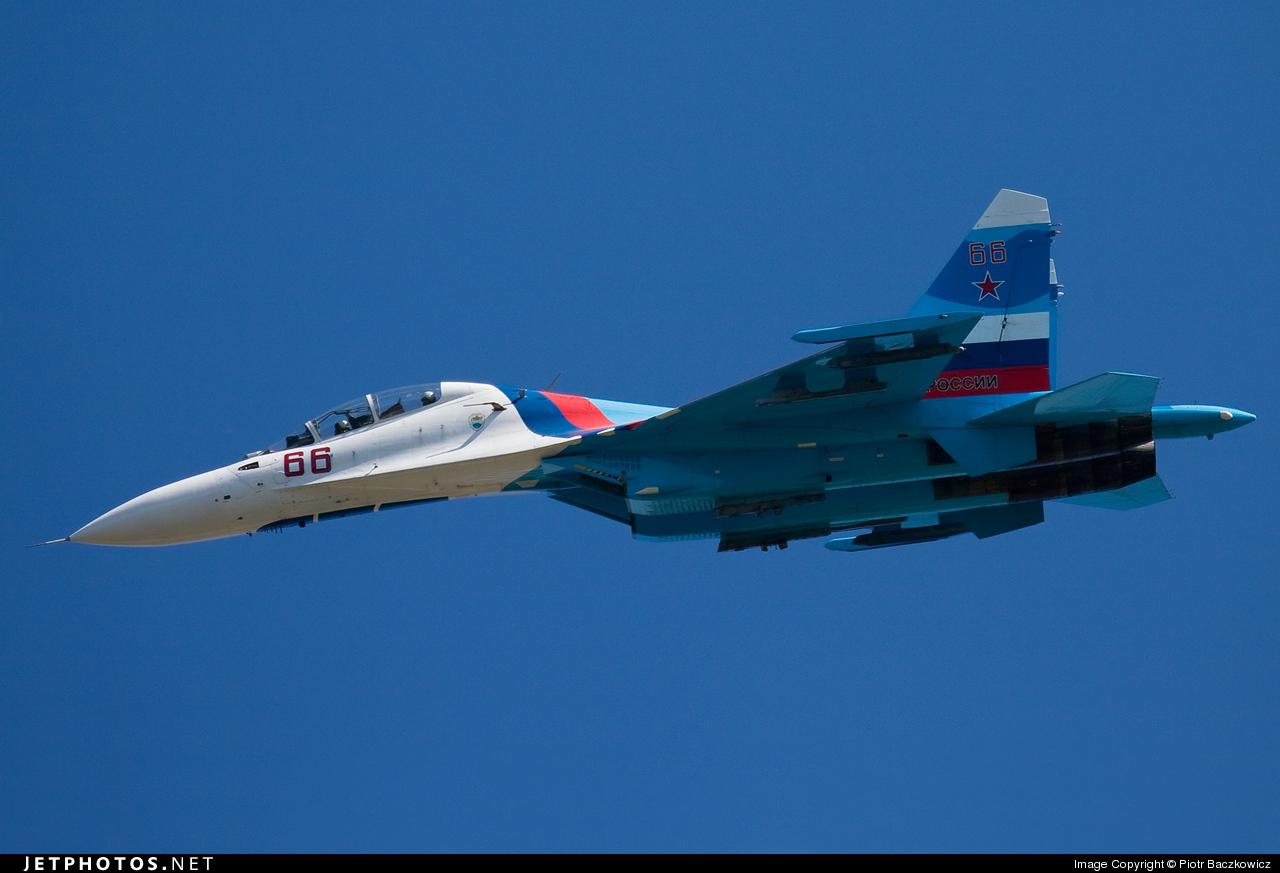 66 - Sukhoi Su-27UB Flanker C - Russia - Air Force