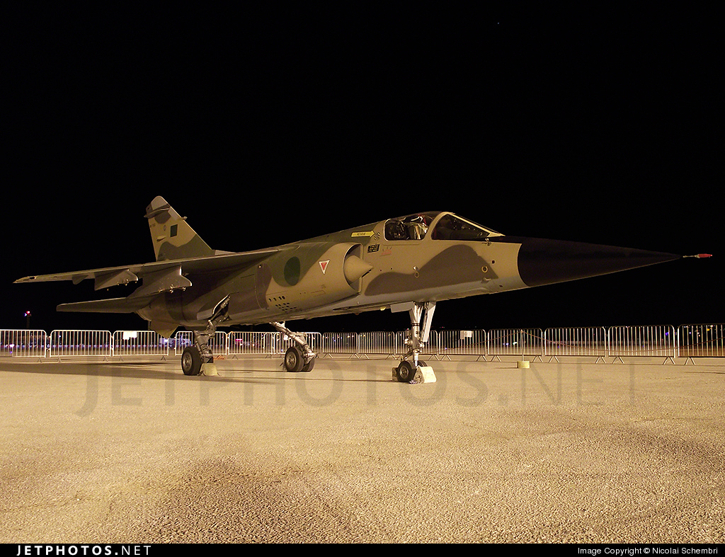 502 - Dassault Mirage F1EDA - Libya - Air Force