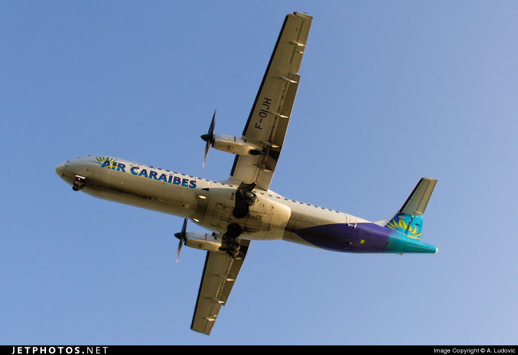F-OIJH - ATR 72-212A(500) - Air Caraïbes