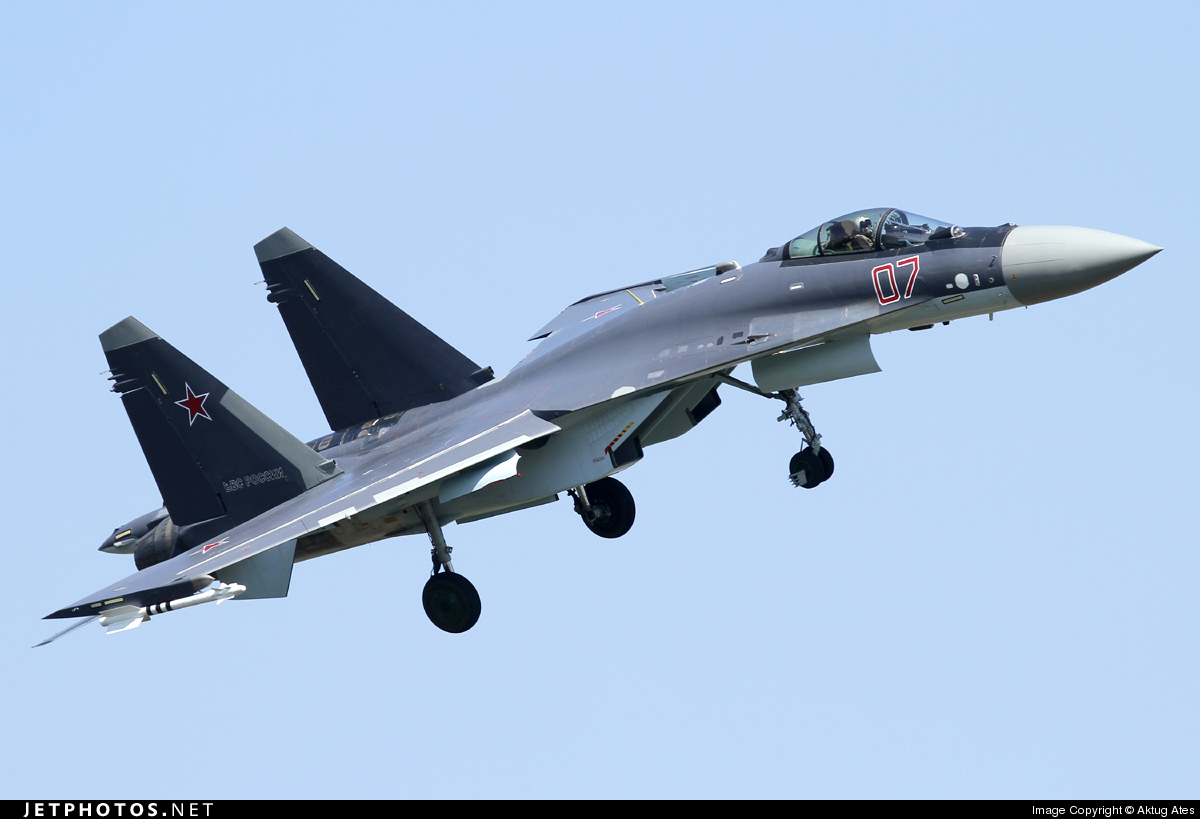 07 - Sukhoi Su-35S - Russia - Air Force