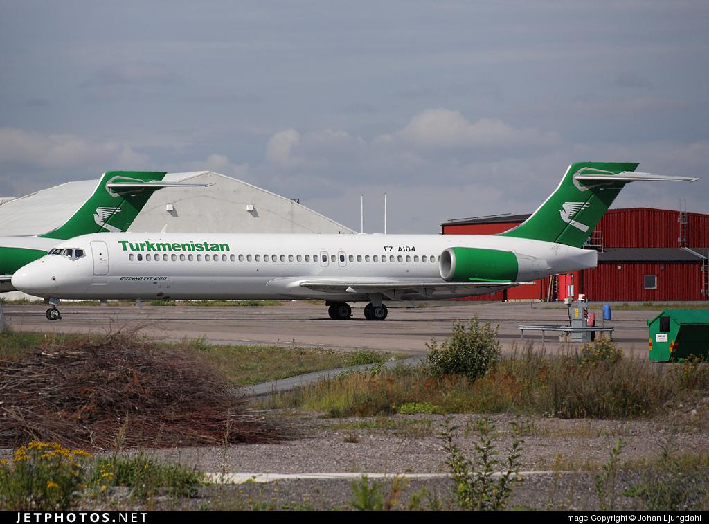 EZ-A104 - Boeing 717-22K - Turkmenistan Airlines