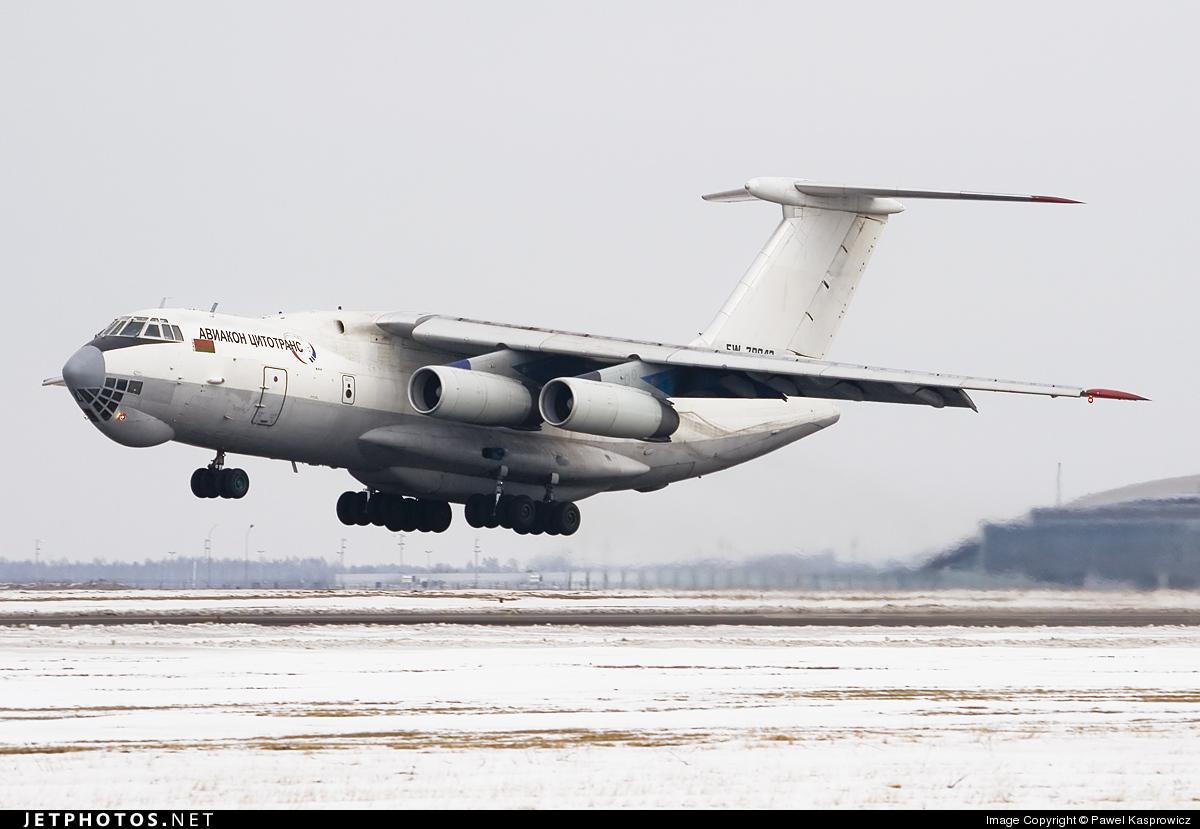 EW-78843 - Ilyushin IL-76TD - Aviacon Zitotrans