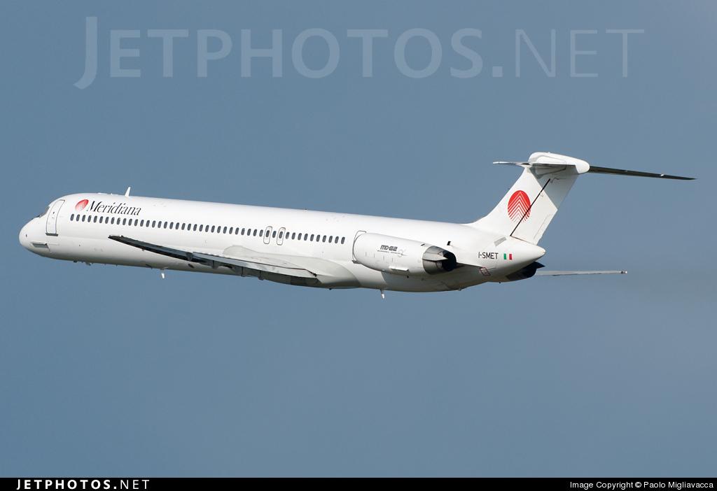 I-SMET - McDonnell Douglas MD-82 - Meridiana fly