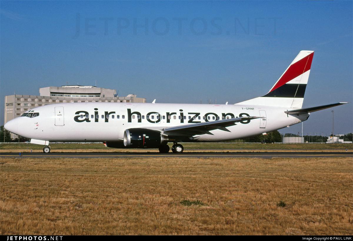 F-GRNF - Boeing 737-329 - Air Horizons