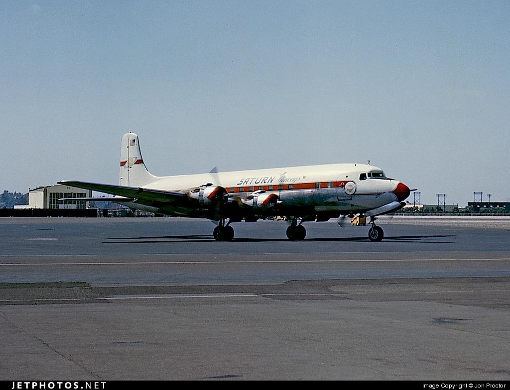 N90772 - Douglas DC-6B - Saturn Airways