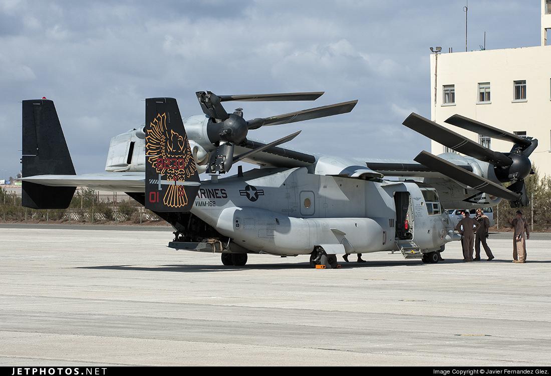 168230 - Boeing MV-22B Osprey - United States - US Marine Corps (USMC)