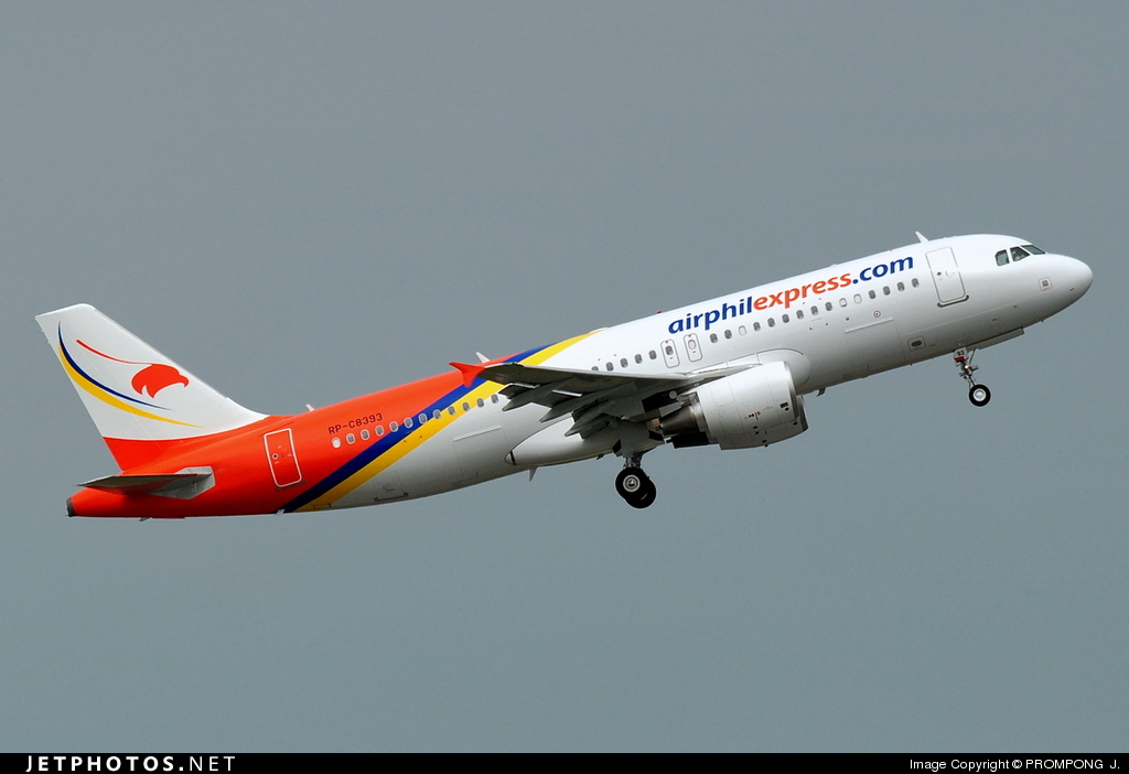 RP-C8393 - Airbus A320-214 - Airphil Express