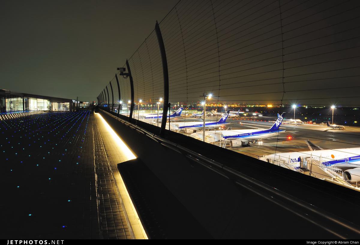 RJTT - Airport - Spotting Location