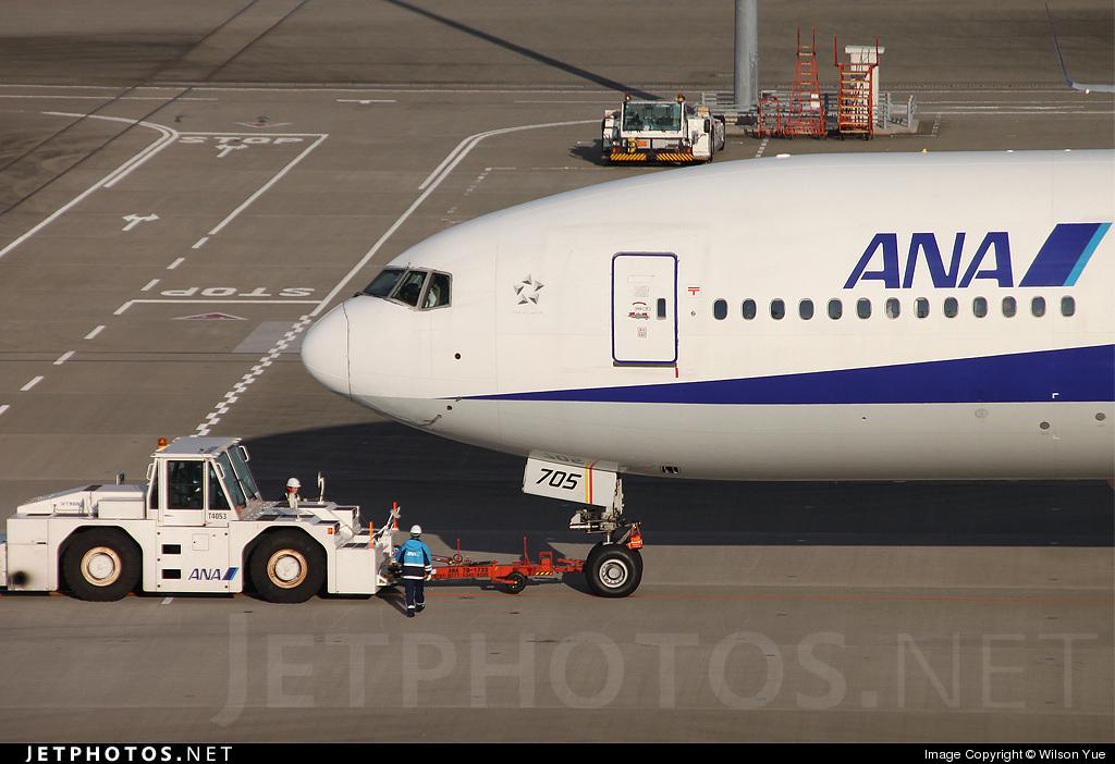 JA705A - Boeing 777-281 - All Nippon Airways (ANA)