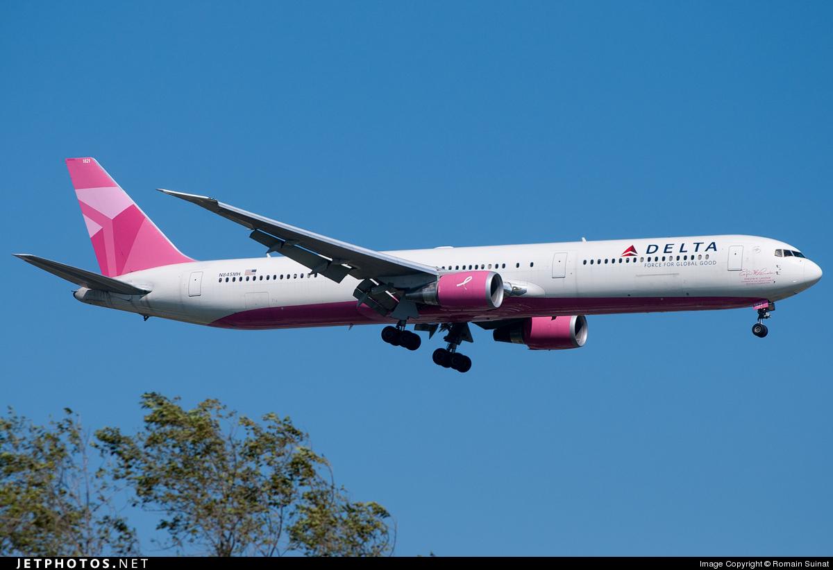 N845MH - Boeing 767-432(ER) - Delta Air Lines