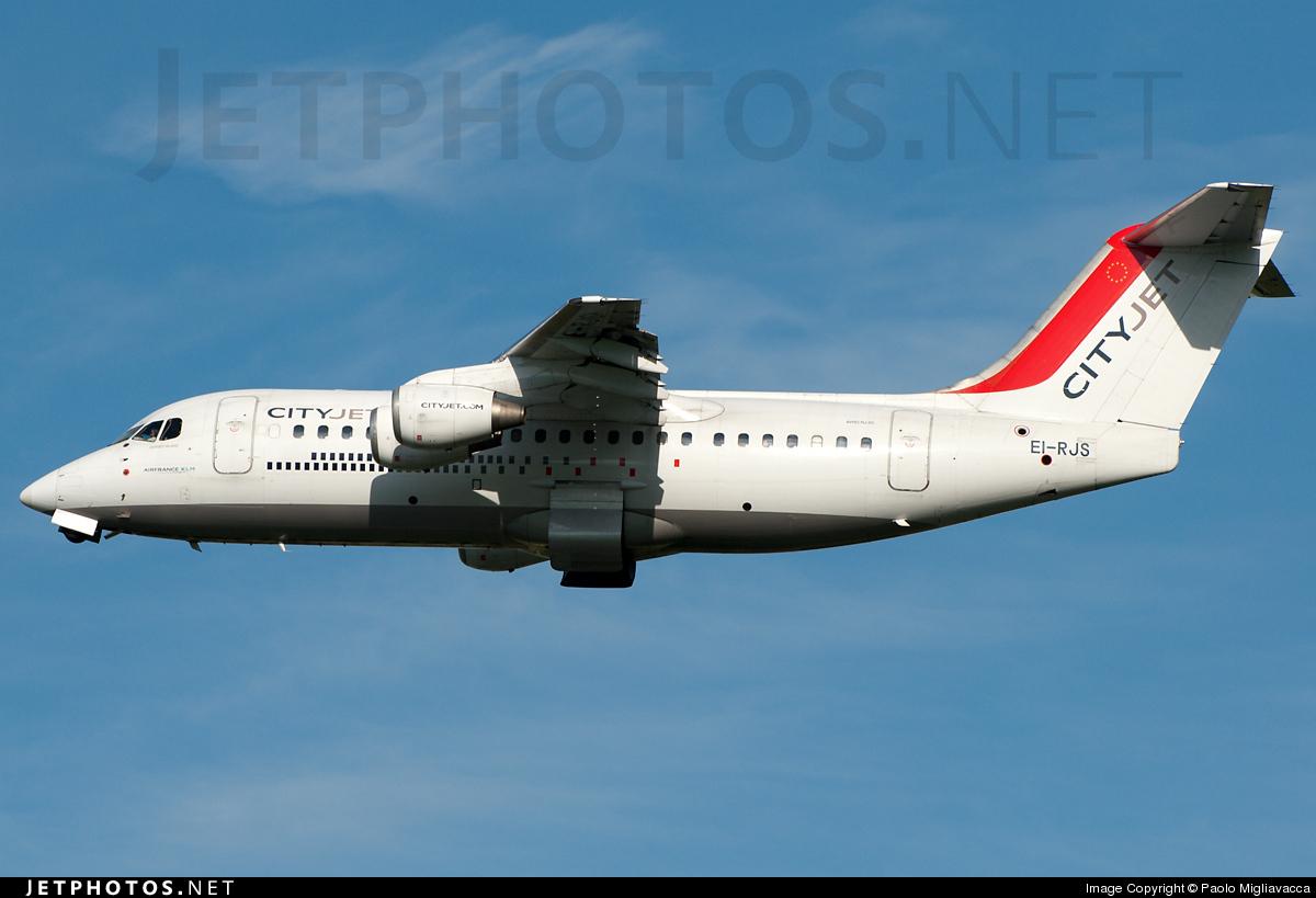 EI-RJS - British Aerospace Avro RJ85 - CityJet