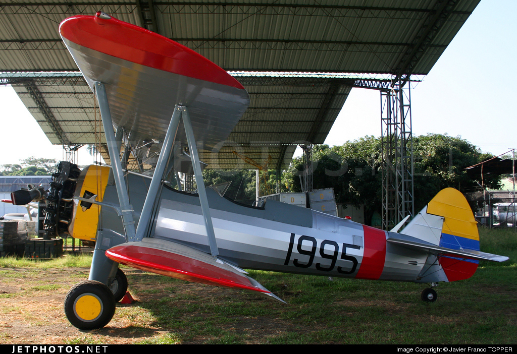 FAC1995 - Boeing PT-17 Kaydet - Colombia - Air Force