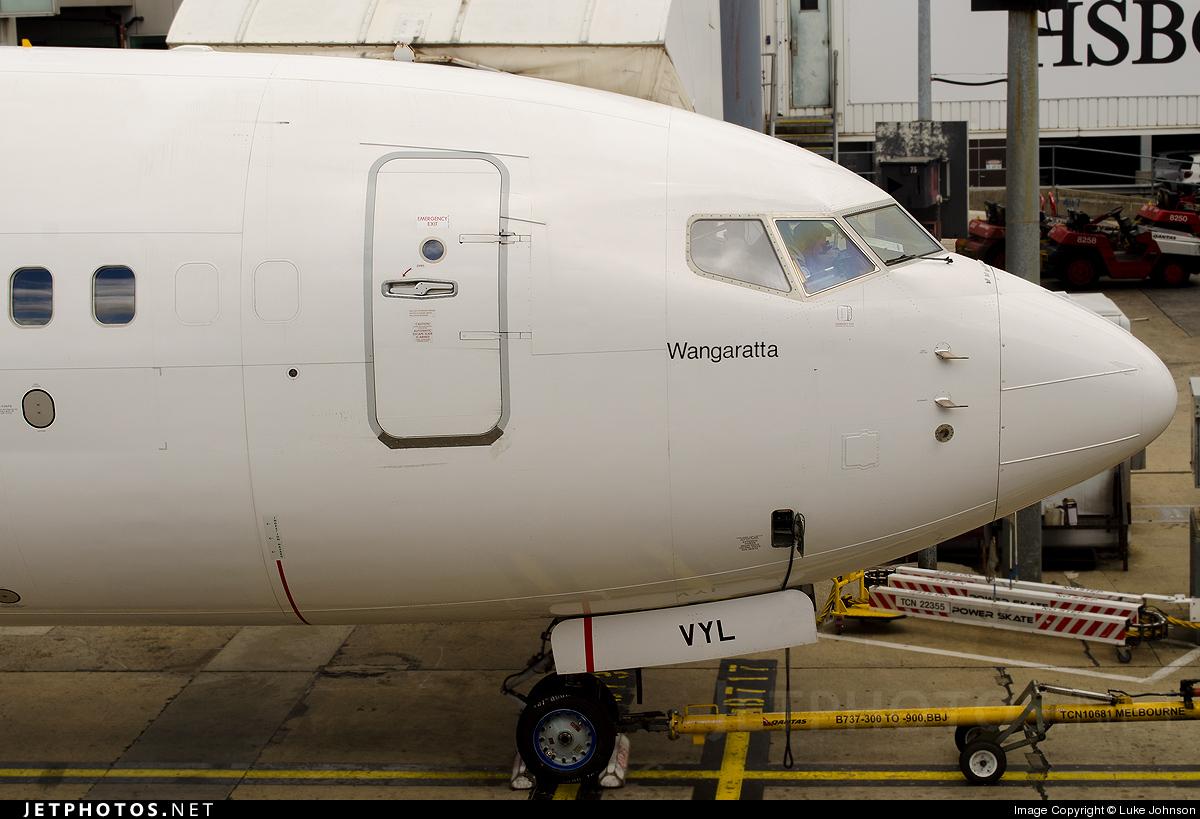 VH-VYL - Boeing 737-838 - Qantas