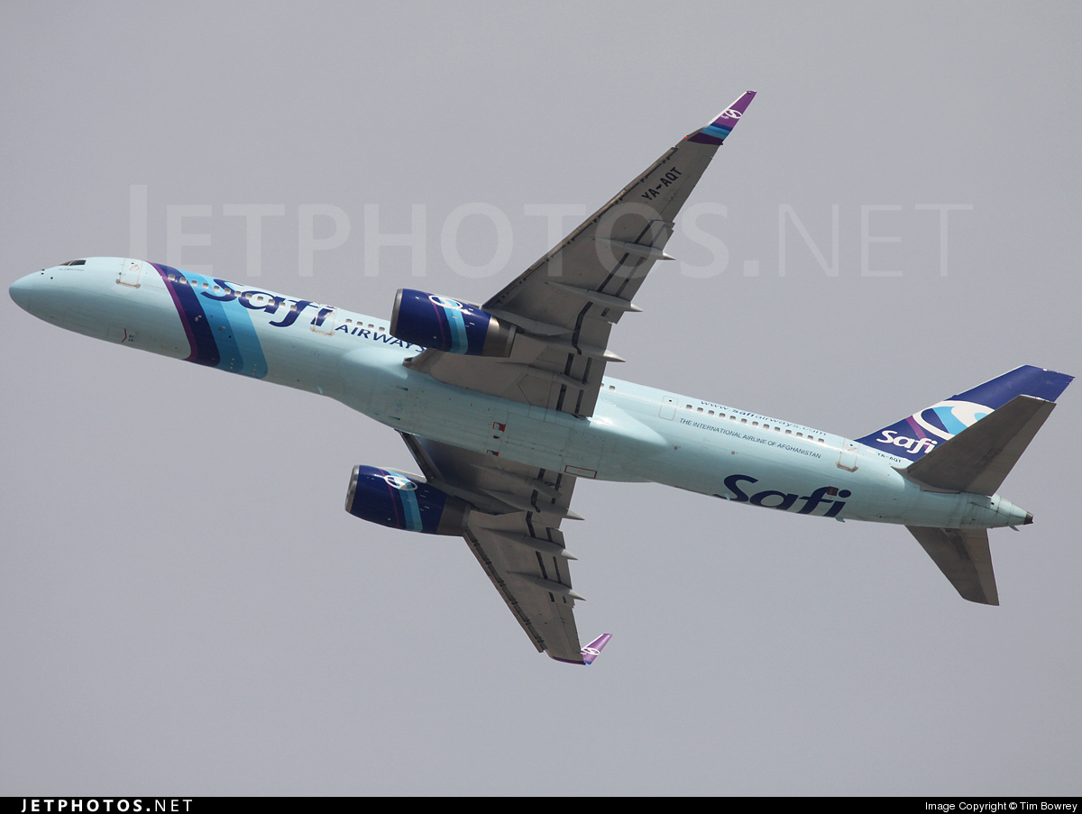 YA-AQT - Boeing 757-2K2 - Safi Airways