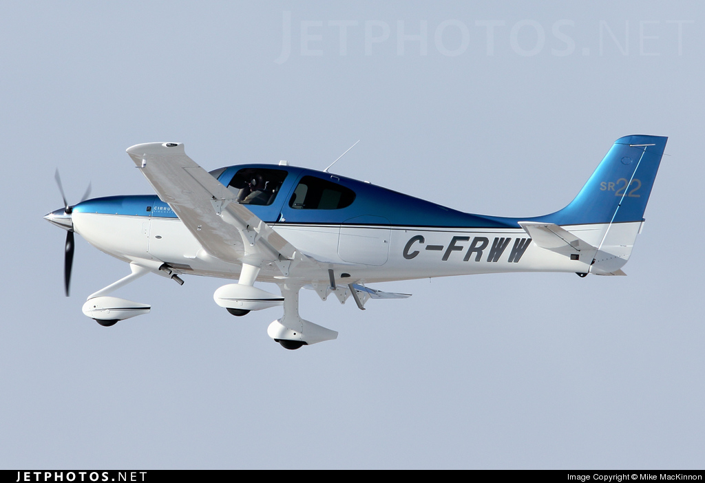 c frww cirrus sr22 private mike mackinnon jetphotos