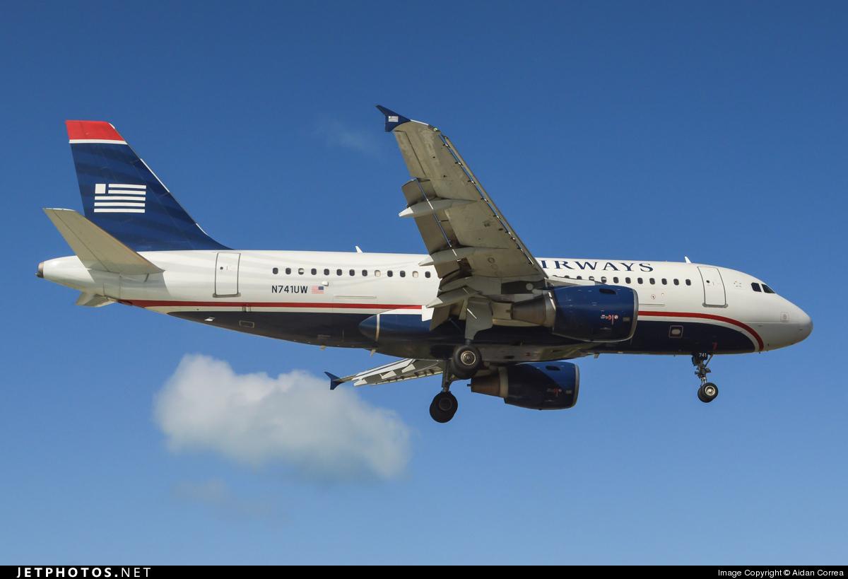 N741UW - Airbus A319-112 - US Airways