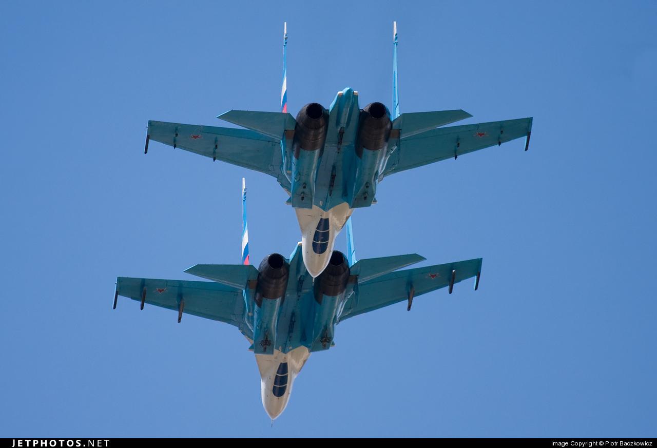 14 - Sukhoi Su-27UB Flanker C - Russia - Air Force