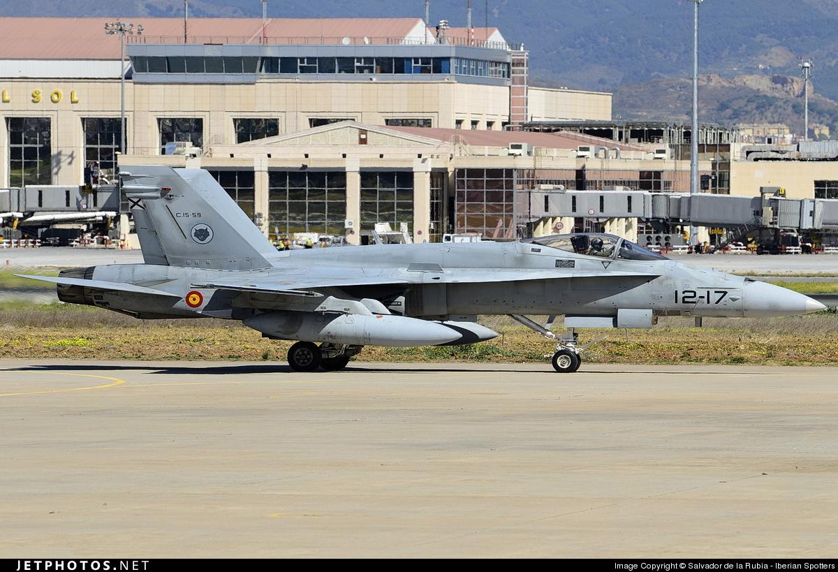 C15-59 - McDonnell Douglas EF-18A Hornet - Spain - Air Force