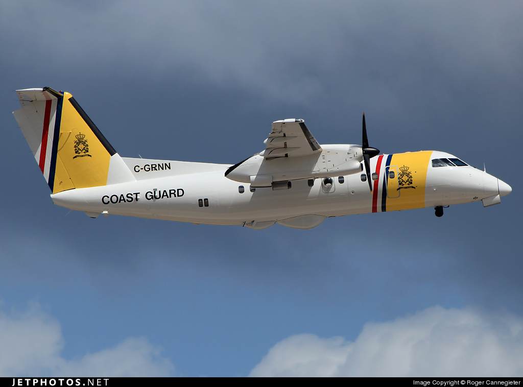 C-GRNN - Bombardier Dash 8-102 - Netherlands Antilles - Coast Guard