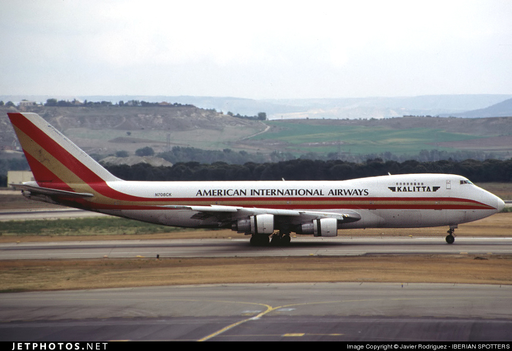 N708CK - Boeing 747-269B(SF) - American International Airways (Kalitta)