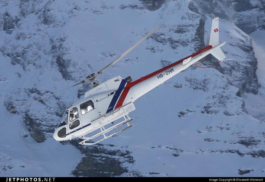 HB-ZHM - Aérospatiale AS 350BA Ecureuil - Helimission