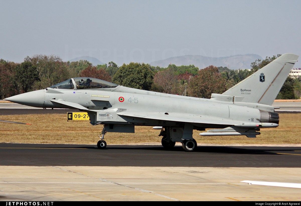 4-5 - Eurofighter Typhoon EF2000 - Italy - Air Force