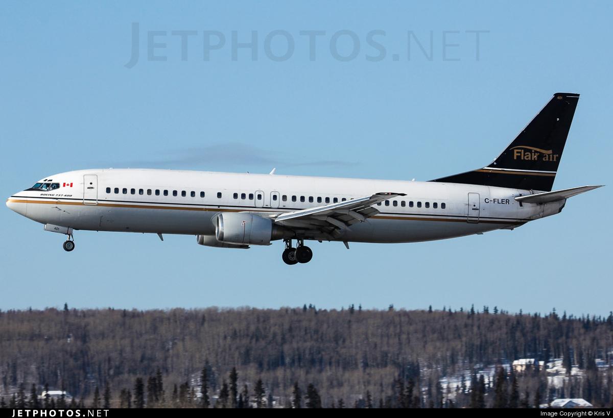 C-FLER - Boeing 737-46B - Flair Air
