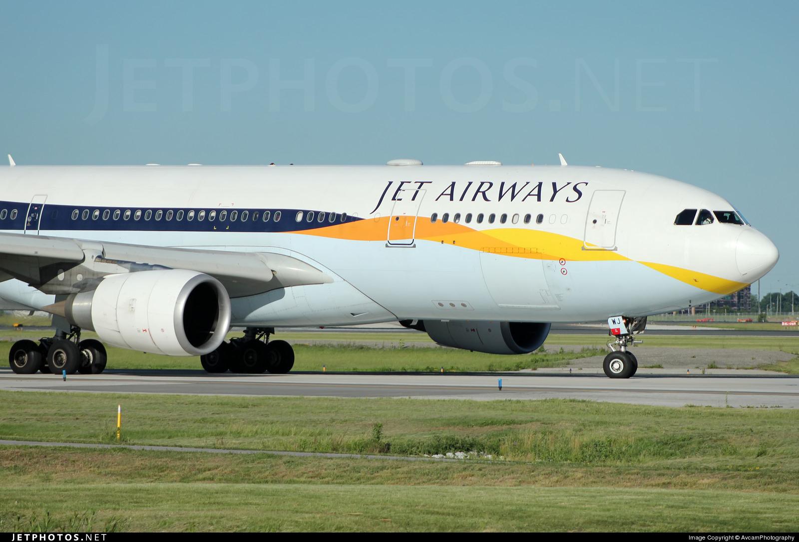 VT-JWJ - Airbus A330-202 - Jet Airways