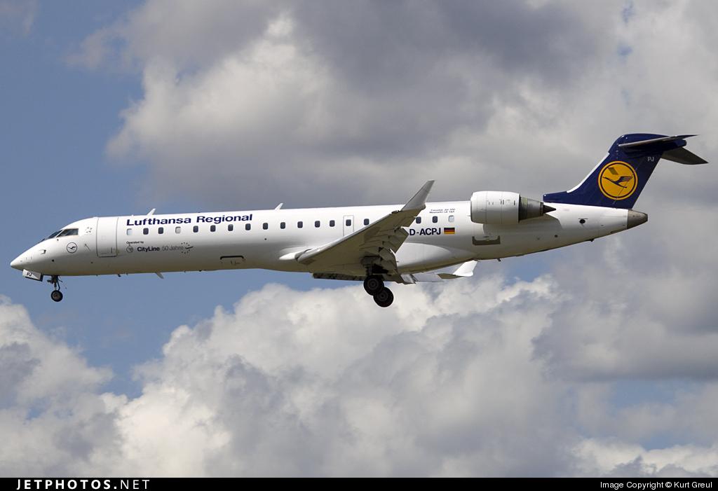 D-ACPJ - Bombardier CRJ-701 - Lufthansa Regional (CityLine)