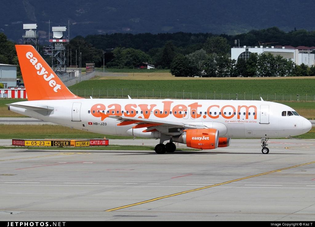 HB-JZO - Airbus A319-111 - easyJet Switzerland
