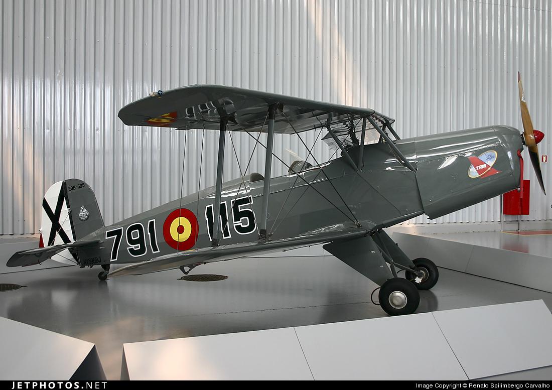 NX595BJ - CASA 1.131E-3B Jungmann - Private
