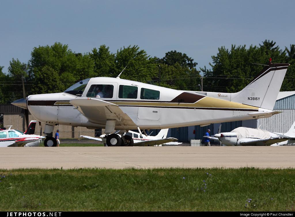N3816Y - Beechcraft C23 Sundowner - Private