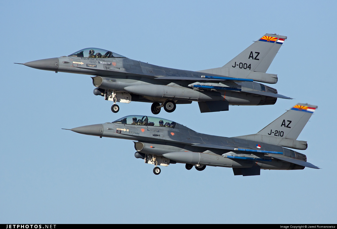 J-004 - General Dynamics F-16AM Fighting Falcon - Netherlands - Royal Air Force