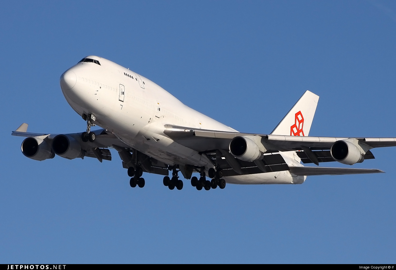 LX-ACV - Boeing 747-4B5(BCF) - Cargolux Airlines International