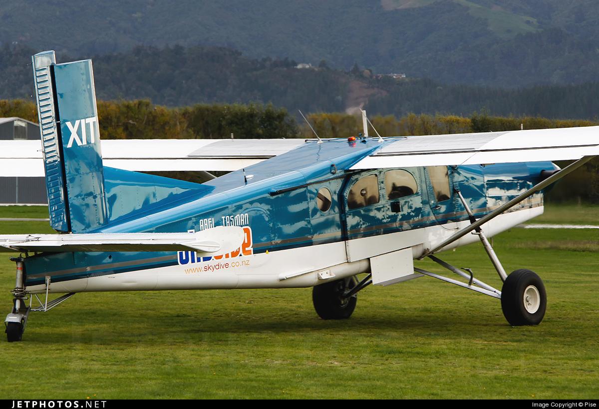 ZK-XIT - Pilatus PC-6/B2-H2 Turbo Porter - Private