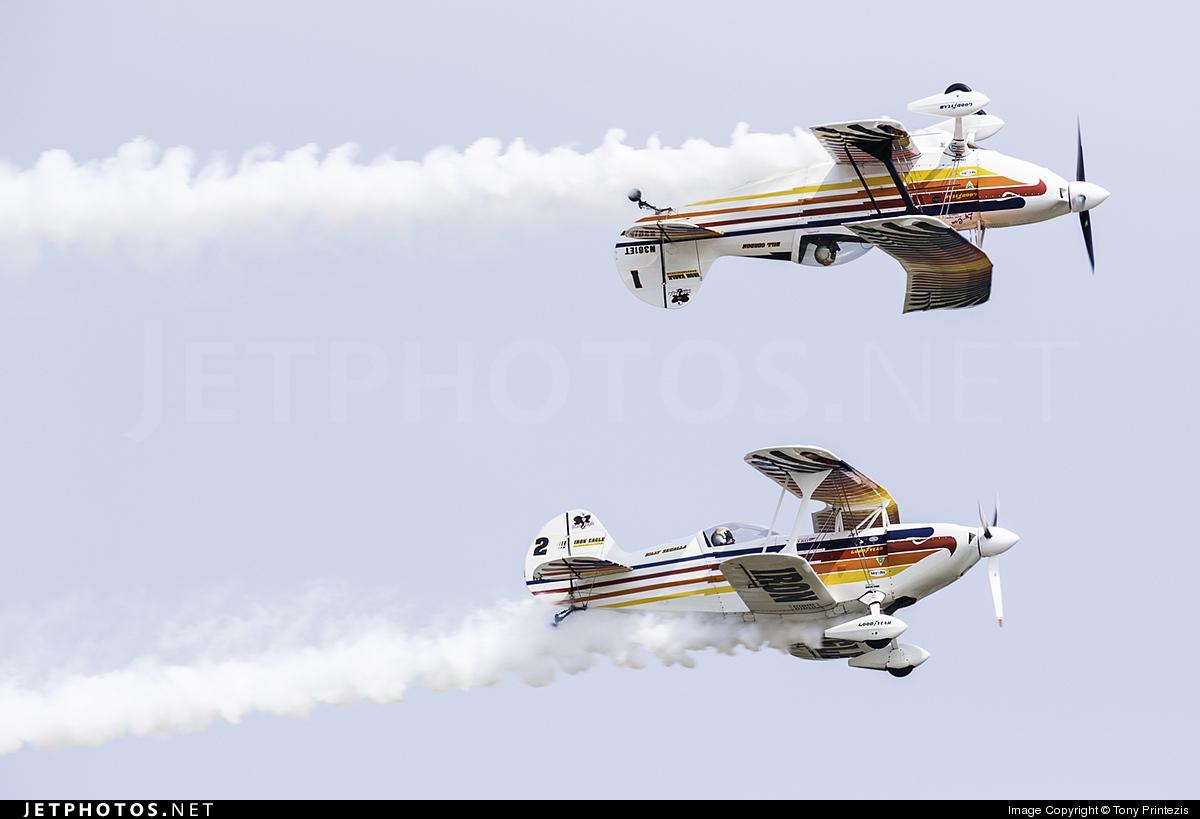 N362ET - Christen Eagle II - Iron Eagles Aerobatic Team