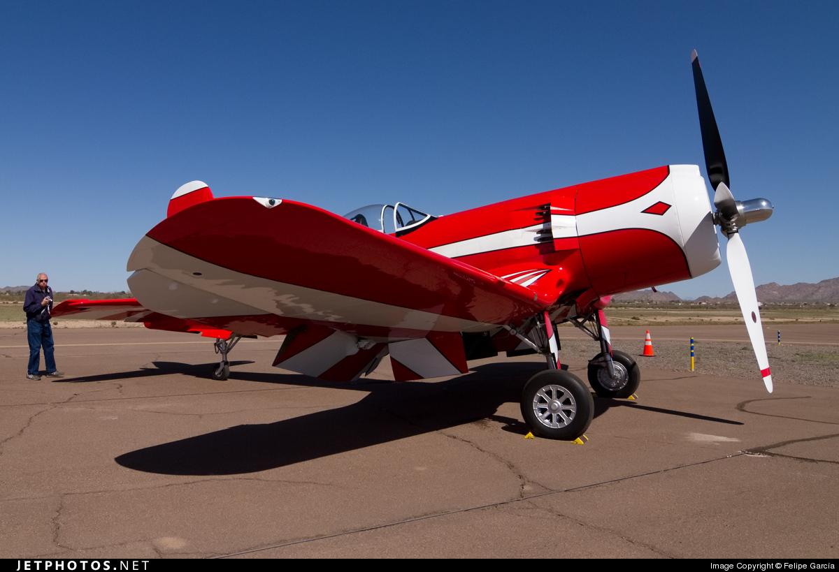 N5588N - Goodyear F-2G Corsair - Private