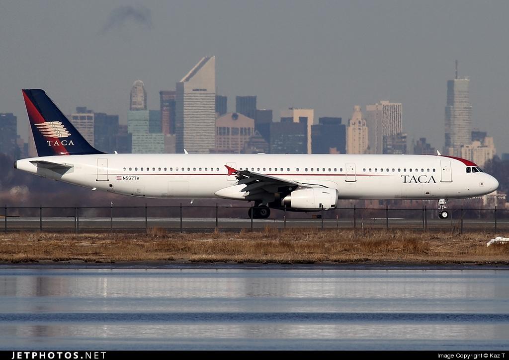 N567TA - Airbus A321-231 - TACA International Airlines
