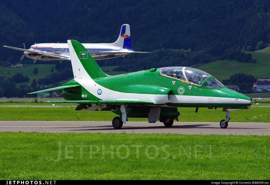 8807 - British Aerospace Hawk Mk.66 - Saudi Arabia - Air Force