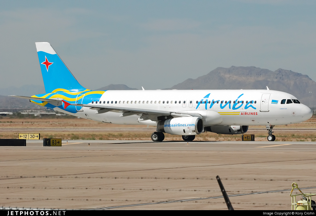 N181LF - Airbus A320-232 - Aruba Airlines