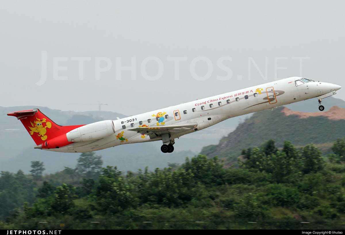 B-3031 - Embraer ERJ-145LI - Grand China Express
