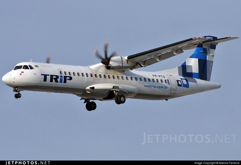 PP-PTX - ATR 72-212A(500) - TRIP Linhas Aéreas