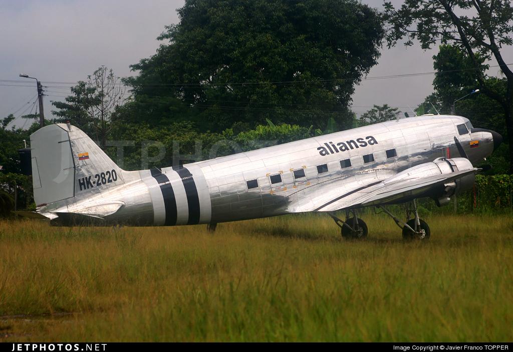 HK-2820 - Douglas DC-3 - Aliansa Colombia
